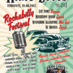 The poster of Hang Loose Rockabilly festival 2017.