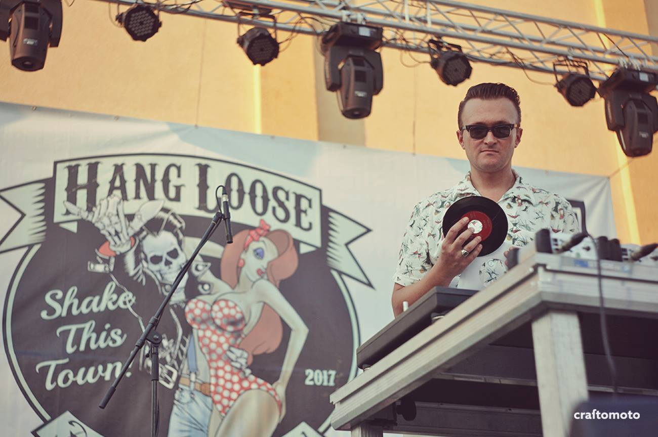 Daytime gig of DJ Bronco (HLRF 2017), photo credits: Craftomoto