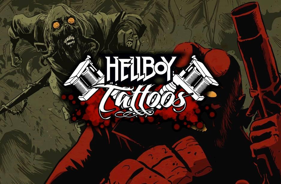 Hell Boy Tattoo